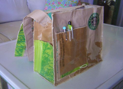 Starbucks Messenger Bag 015