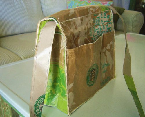 Starbucks Messenger Bag 014