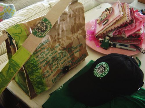 Starbucks Messenger Bag 023